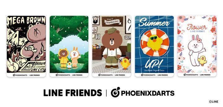 LINE FRIENDS キャラクター PHOENicA(フェニカ)カード